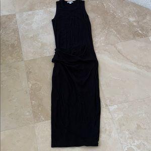 James perse black dress